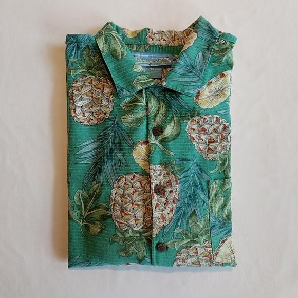 f91d6a3a65860 Bermuda Bay Other - Bermuda Bay Men s Silk Hawaiian Aloha Shirt XL